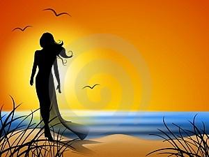 woman alone 1