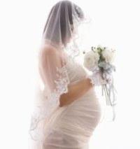 bride pregnant