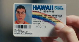 mclovin drivers license