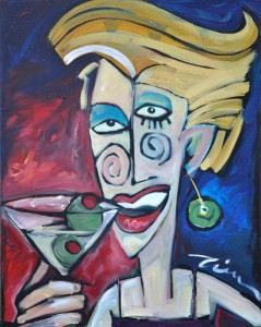 woman martini 1