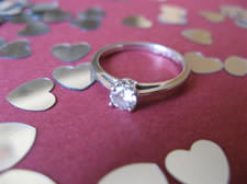 engagement ring valentines day