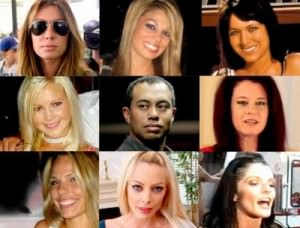 Women tiger woods cheated with