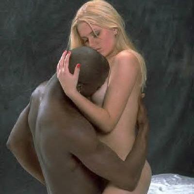 black man white women