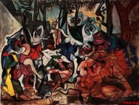 bacchanal pablo picasso
