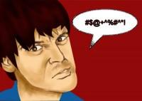 man arguing