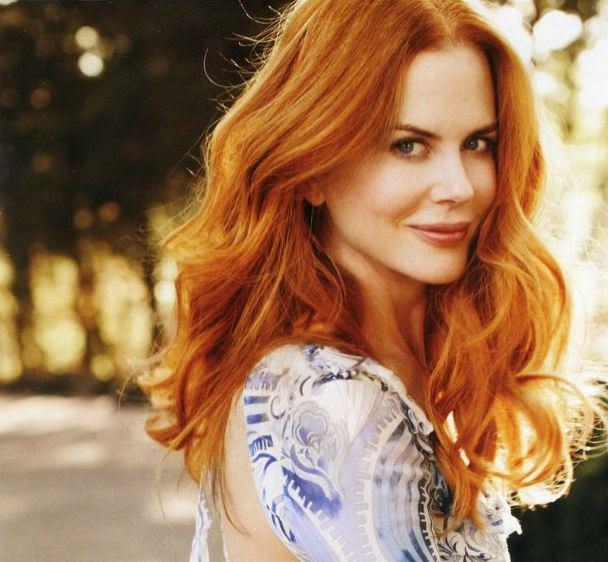Nicole Kidman Red Hair