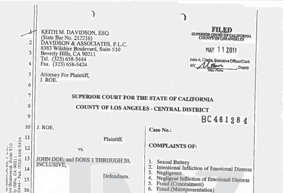 charlie sheen lawsuit