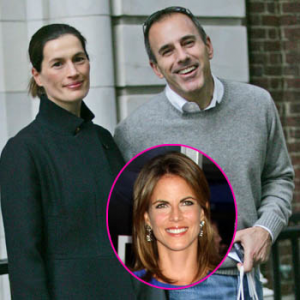 His wife confronts his colleague for Natalie morales and matt lauer affair