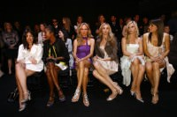 fashion show front row