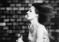 woman running 1