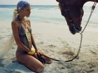 model jewelry horse
