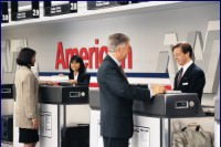 american airlines counter