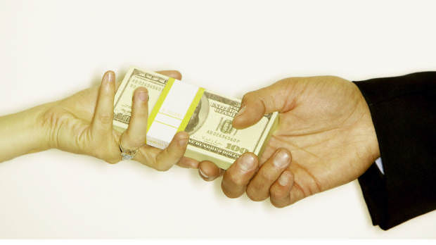 Slikovni rezultat za man giving woman money