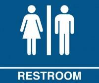 restroom sign 2