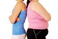 women fat thin