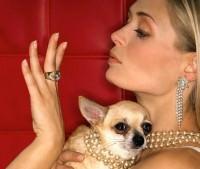 woman and dog 3