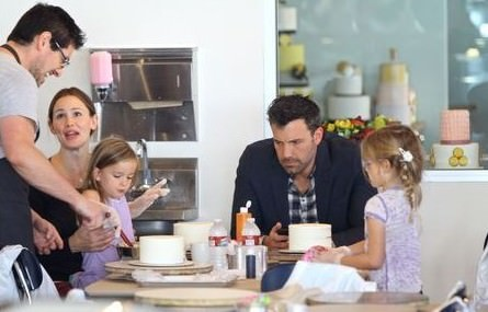 ben affleck family cakemix