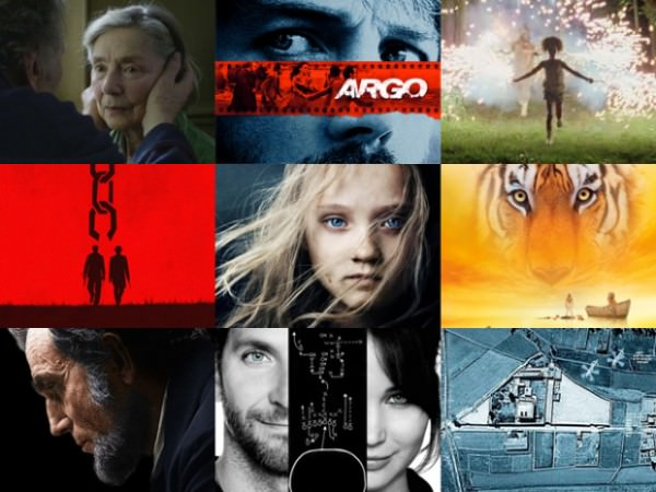 2013 academy award films
