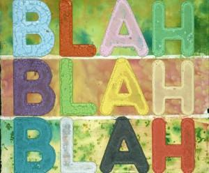 blah blah blah 2