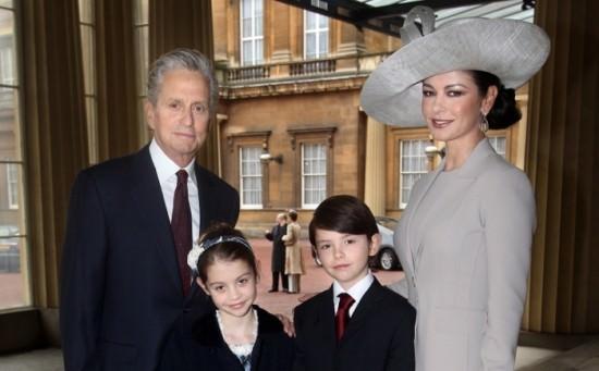 michael douglas catherine zeta jones family 1