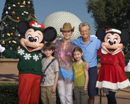 michael douglas catherine zeta jones family 2