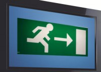 man exits 2