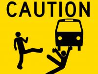 thrown under bus