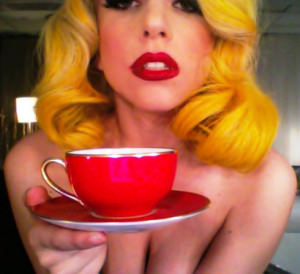 coffee lady gaga