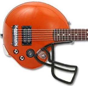 football guitar