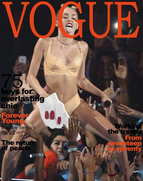 miley cyrus blind gossip vogue