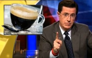 stephen colbert coffee