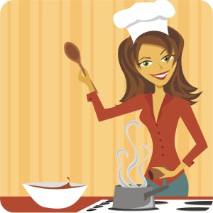 woman cooking 3
