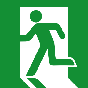exit sign 3