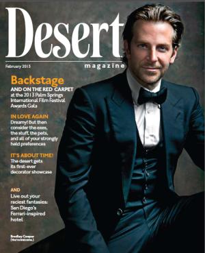 bradley cooper desert magazine