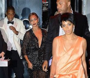 jay z beyonce solange knowles