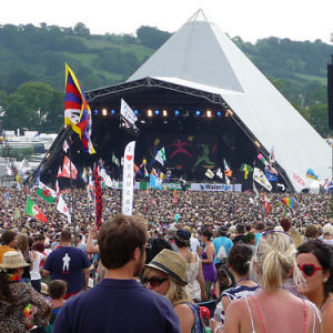 glastonbury tent