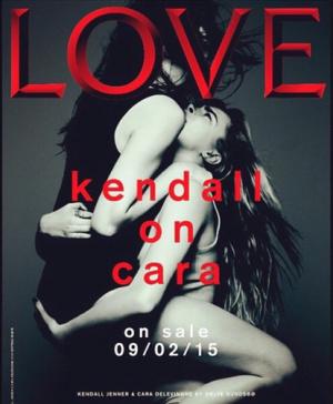 kendall cara love magazine