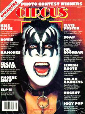 circus magazine cover