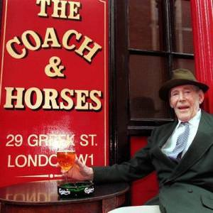 coach and horses pub soho