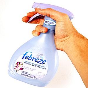 febreze spray