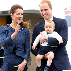 prince william kate george
