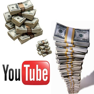 you tube money