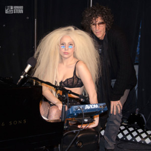 lady gaga howard stern