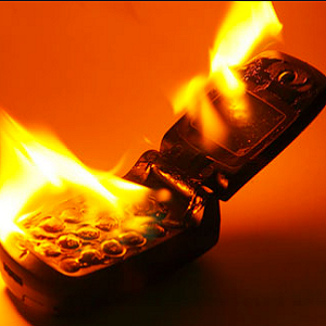 cell phone fire 1