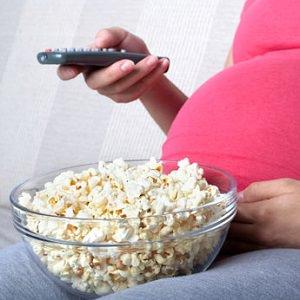 pregnant popcorn