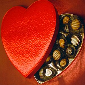 happy valentines chocolates