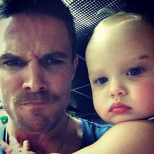stephen amell and daughter