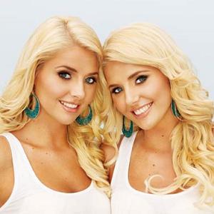 woman twins