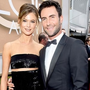 how did adam levine and behati meet