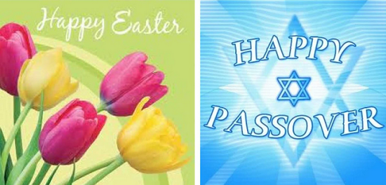 happy easter happy passover